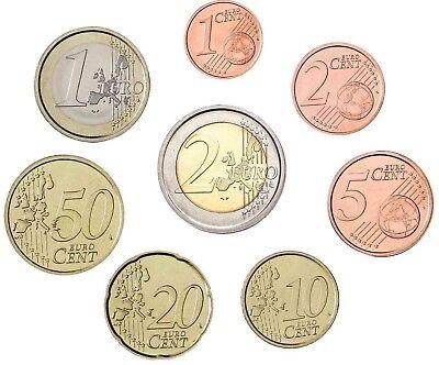Spanien 1 Cent bis 2 Euro 2005 KMS Don Quichote Stempelglanz im Blister