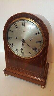 Triple fusee clock 12