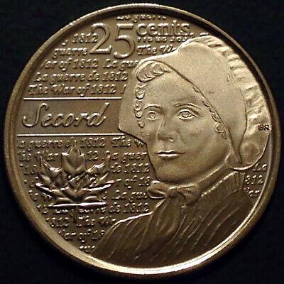 Canada 2012 / 2013 War of 1812 8 Commemorative 25 Cent Quarter Coin Set, UNC 7