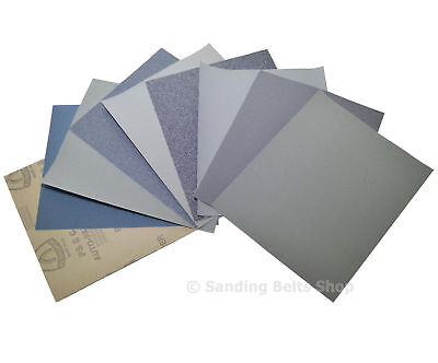 Wet And Dry Sandpaper 60 - 7000 Grit Klingspor Sand Paper Mixed You Choose 4