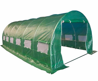 FoxHunter Fully Galvanised Frame Polytunnel Greenhouse Pollytunnel Poly Tunnel 10