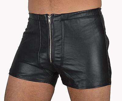 533 aus lammnapa PO frei ledershorts Gay Kurze Lederhose,leder shorts leather 5