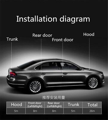 5M L Shape Car Door Hood Trunk Trim Edge Moulding Rubber Weatherstrip Seal Strip