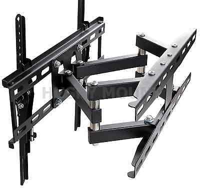 Full Motion TV Wall Mount  VESA Bracket 32 46 50 55 60 inch LED LCD Flat Screen 4