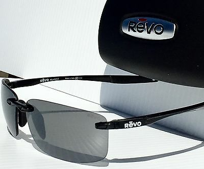 18189a07b5 9 of 12 NEW  REVO DESCEND N BLACK w Grey POLARIZED Lens Sunglass 4059 01 GY