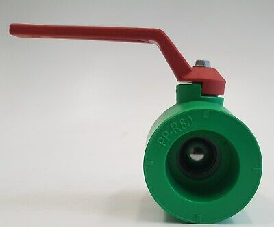 Fusiotherm PPR Aqua-Plus Kugelhahn für 25mm Rohre