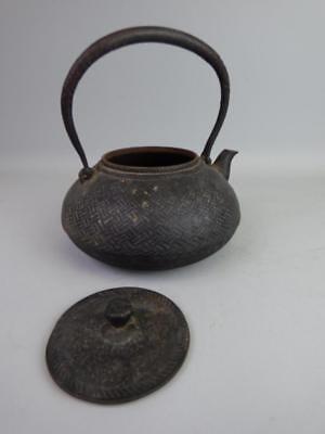 Antique Japanese Cast Iron Teapot Lot 944