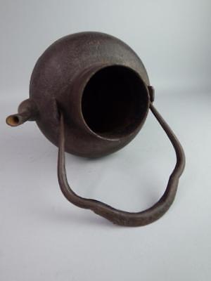 Antique Japanese Cast Iron Teapot Lot 317