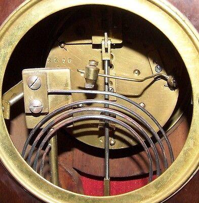 French Antique Mahogany and Ormolu Bracket / Mantel Clock : JAPY FRERES & CIE 11