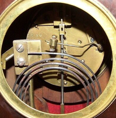 # French Antique Mahogany and Ormolu Bracket / Mantel Clock : JAPY FRERES & CIE 11