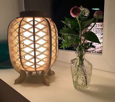 4x Deko-Flaschen Glasvase Tischvase 20cm Set Blumenvase Glasflasche Vase Väschen 5