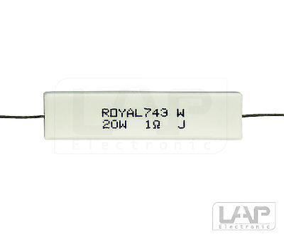 1,0-33 Ohm | 20 Watt | 5% Hochlastwiderstand Widerstand 20W Hochlast Widerstände