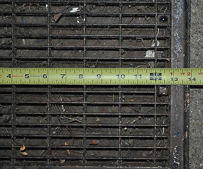 Vintage Floor / Wall Heat Register Metal Vent  Antique Grate 5