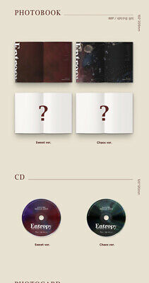 DAY6 THE BOOK OF US:ENTROPY 3rd Album CD+POSTER+Book+3Card+B.Mark+Pre-Order+GIFT 4