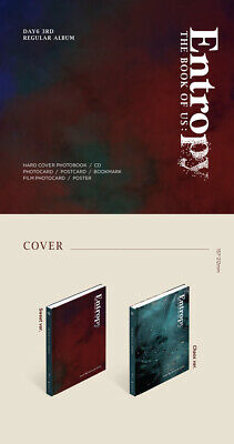 DAY6 THE BOOK OF US:ENTROPY 3rd Album CD+POSTER+Book+3Card+B.Mark+Pre-Order+GIFT 3