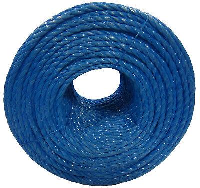 Blue Poly Rope Coils, Polyrope, Polypropylene, Nylon, Polyprop, Tarpaulins 4