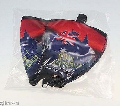 4x Wine Glass Cooler Insulator Holder with Lanyard AUSTRALIA Souvenir 10