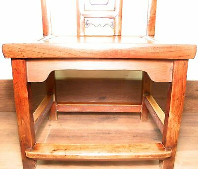 Antique Chinese Ming Children Chair (5896), Zelkova Wood, Circa 1800-1849 6
