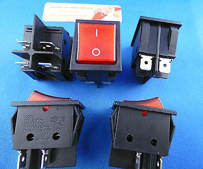 Instalación Interruptor basculante,2 polig (4 pines) 16a 250vac 28.5 21.9mm 3