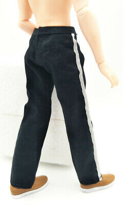 High Quality 1/6 Doll Clothes Jeans Pants For Ken Doll Trousers For 11.5in Doll 6