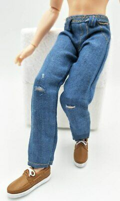 High Quality 1/6 Doll Clothes Jeans Pants For Ken Doll Trousers For 11.5in Doll 9