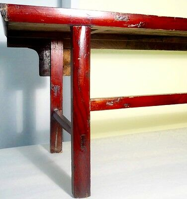 Antique Chinese Ming Scholar Daybed/Bench (2633), Circa 1800-1849 7
