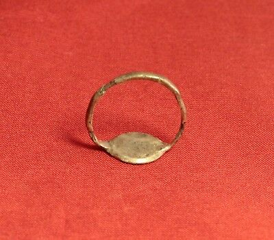 Medieval Silver Knight's Seal Ring 12. Century 5