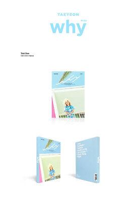 GIRLS GENERATION TAEYEON [WHY] 2nd Mini Album CD+Photo Book+Photo Card SEALED