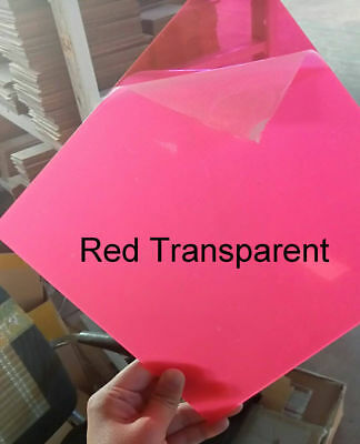 Color Acrylic Sheet Plate Plastic Plexiglass Panel 8x8/10x20/15x15/20x20/30x40cm 3