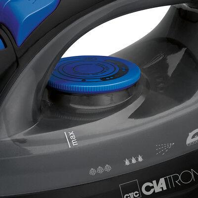 Plancha de vapor vertical para ropa suela acero inox antigoteo 7 funciones 1800W 8