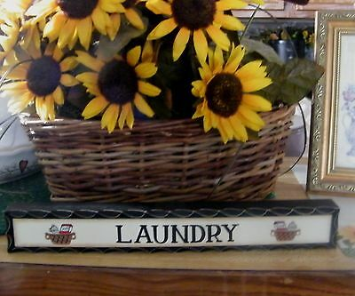 DOLLY LAUNDRY SOAP vintage tub Wood Retro Primitive Laundry Room decor Sign 9x11