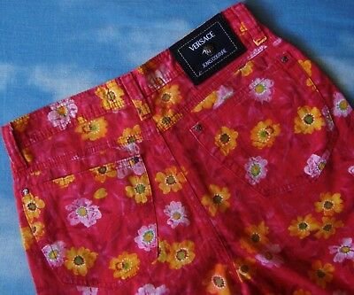 TROUSERS vintage VERSACE Jeans Couture made in Italy TG 30-44 circa S/M 6