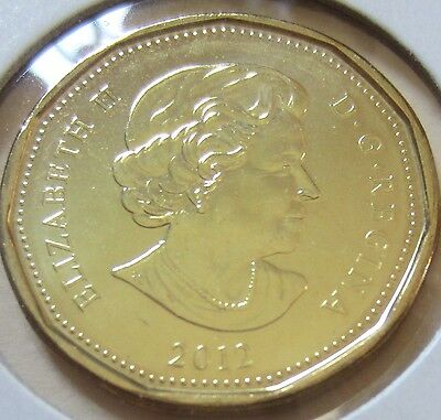 2012 Canada Lucky Loonie One Dollar Coin. (UNC.) 2