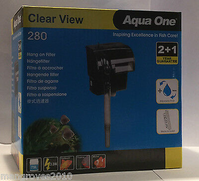 Aqua One Clear View 280 Hang On Filter 3
