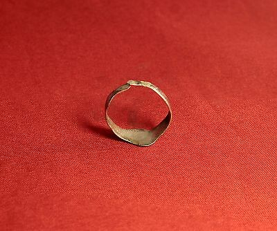 Medieval Archer's Shape Silver Ring - 12. Century 3