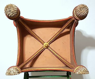 Gothic medieval chateau wall shelf Antique french wood architectural salvage 9