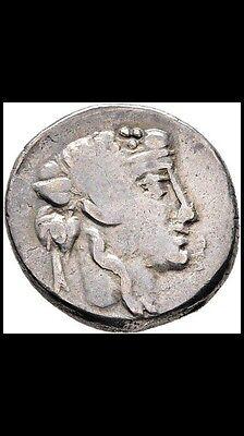 Repúblic Roman Titia. Titius Quintus. Denarius 94 a.C silver very scarce rare R5 2