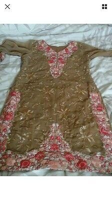 Pakistani designer mina hassan stitched suit Wedding Partywear 2