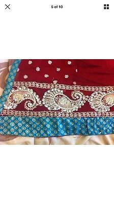 Stunning Asian Pakistani Indian Designer Dress For Parties And Weddings REDUCED 4