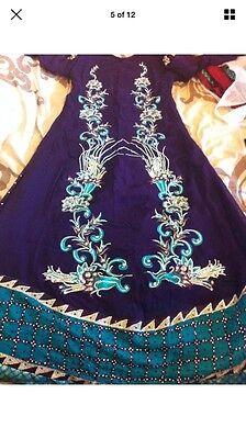 Stunning Asian Pakistani Indian Designer anarkali Dress  Wedding party Wear 5