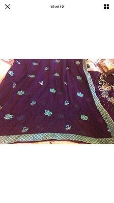 Stunning Asian Pakistani Indian Designer anarkali Dress  Wedding party Wear 12