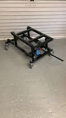 ... Brand New Hydraulic Heavy Duty Pool Table Trolley With A Jack Handle