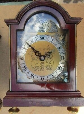 Vintage/Antique  Collectable by Mappin & Webb Scott Elliot Bracket Clock 5