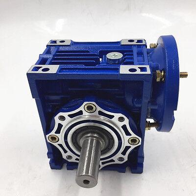 040 Ratio 63B14 100:1 Worm Gear Speed Reducer 11mm 1400r/min for Stepper Motor 9