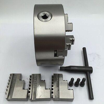 K11 Metal Lathe Chuck 3-jaw Self-centering 80 100 125 130 160 200MM Milling CNC 4