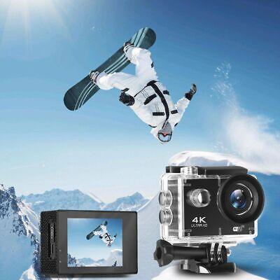 IT 4K Sport Go Pro Action Camera Outdoor Capture Ultra HD 20MP WiFi Waterproof 5