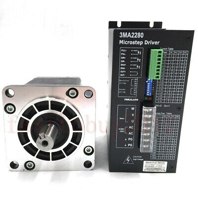 12Nm Stepper Motor Driver NEMA42 3Phase 1.2° 6A for CNC Router Cutting Machine 7