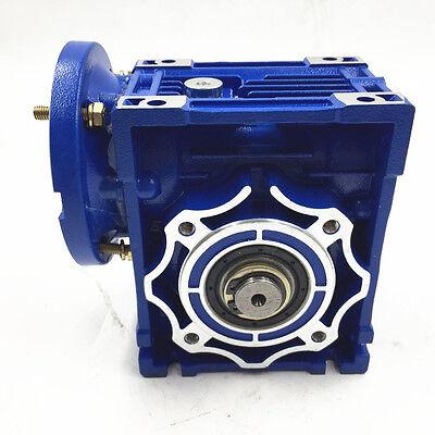 040 Ratio 63B14 100:1 Worm Gear Speed Reducer 11mm 1400r/min for Stepper Motor 3