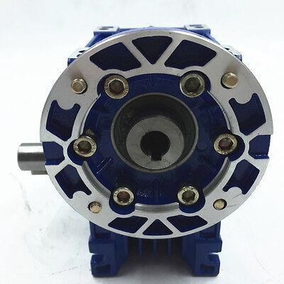 040 Ratio 63B14 100:1 Worm Gear Speed Reducer 11mm 1400r/min for Stepper Motor 6