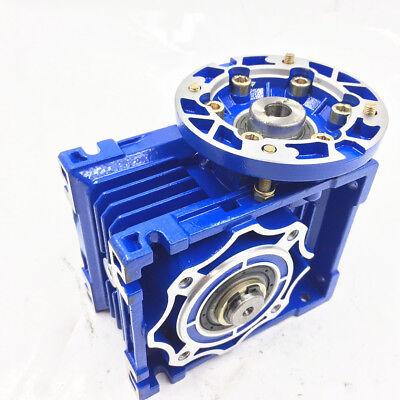 NMRV030 Worm Gear Speed Reducer Ratio 10:1 56B14 for  Stepper Motor 1400r/min 11